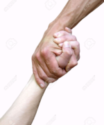 3004344-Hand-in-a-hand-on-a-background-a-rock-Stock-Photo-helping-hand-hands